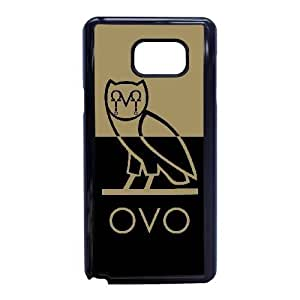 Protection Cover Samsung Galaxy Note 5 Cell Phone Case Black Drake Ovo Owl Zswbr Personalized Durable Cases