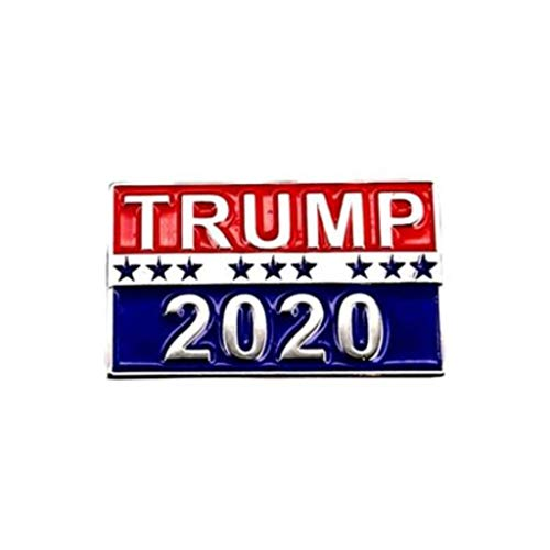 Donald Trump President 2020 Enamel Pin Badge Brooch Fashion Jewerly By BLINGYING from BLINGYING