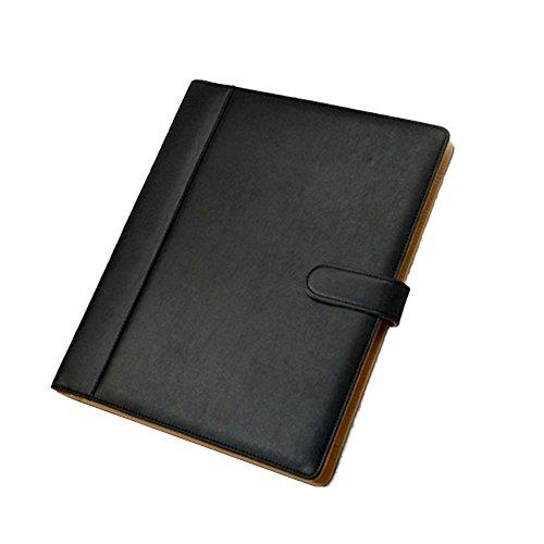 Goodjobb Multi-Function Manager Folder with Calculator Business Document Holder Travel Folder,Brown by Goodjobb (Image #4)