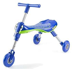 Mookie Toys Scuttlebug - Triciclo, diseño de luciérnaga, color azul y verde