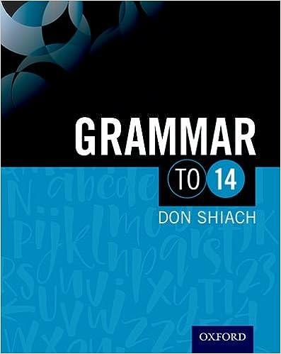 Grammar to 14 (To 14 English)