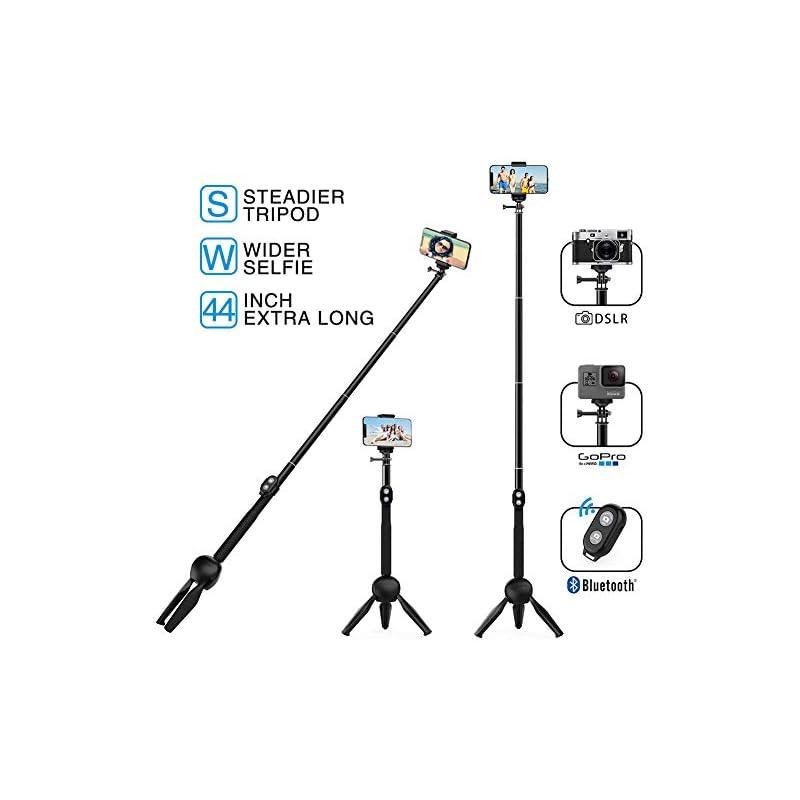 MEIDI Bluetooth Selfie Stick, 12 -38 In