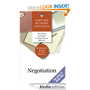 Negotiation (Harvard Business Essentials) Richard Luecke and Harvard Business School Press