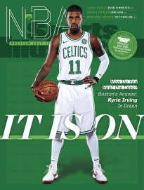 Sports Illustrated Magazine (October 16-23, 2017) Boston Celtics Kyrie Irving Cover