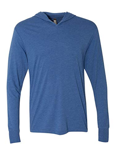 Next Level Apparel 6021 Unisex Tri-Blend Long-Sleeve Hoody - Vintage Royal44; Large from Next Level
