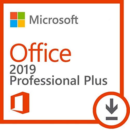 Office 2019 Professional Plus for PC Windows 10 Lifetime License Digital Download...