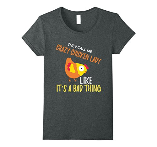 Call me Crazy Chicken Lady - Funny Chicken Lover Shirt
