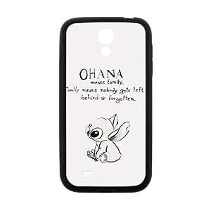 Happy Cute OHANA Brand New And Custom Hard Case Cover Protector For Samsung Galaxy S4