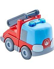 Haba 303844 Kullerbü Brandweer-ladderwagen, motorspeelgoed van 2-8 jaar, geweldig accessoire voor alle Kullerbü