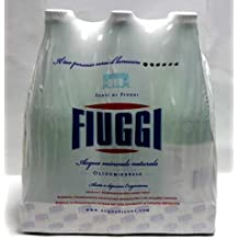 Fiuggi - Natural Mineral Water, (6)- 1L Glass Bottles