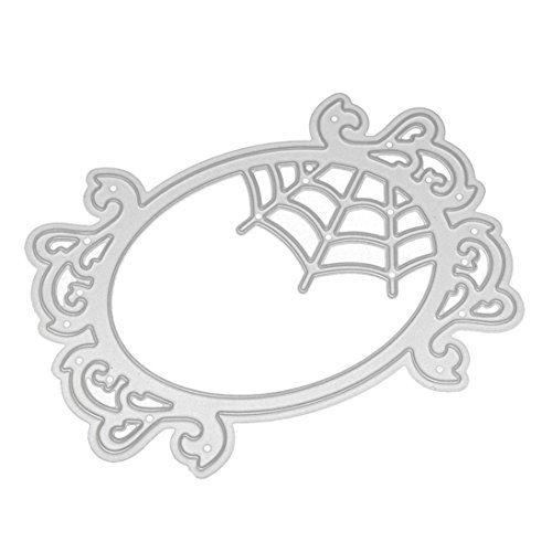 Lisin Happy Halloween Metal Cutting Dies Stencils Scrapbooking Embossing DIY Mini Cerative Crafts (M)]()