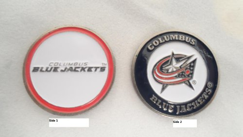 (Team Golf Columbus Blue Jackets Double Sided Ball Marker)