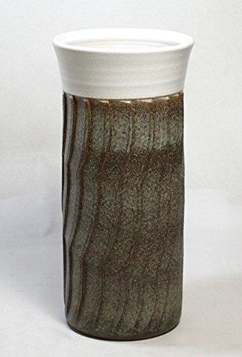 白雲古窯ゆらぎ傘立 信楽焼 陶器 傘立て B01MSVXXZ3