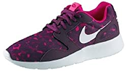 Nike Women's Wmns Kaishi Print, MULBERRY/WHITE-SPRT FUCHSIA-PINK FOIL (10 US)