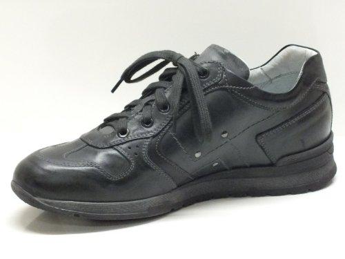 für in P herausnehmbarem Herren mit Antracite Rodeo Schuhe Grau Garten Piombo schwarz Fußbett Musk Leder dI7nwq