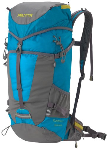 Marmot Kompressor Summit Pack, Blue, Outdoor Stuffs