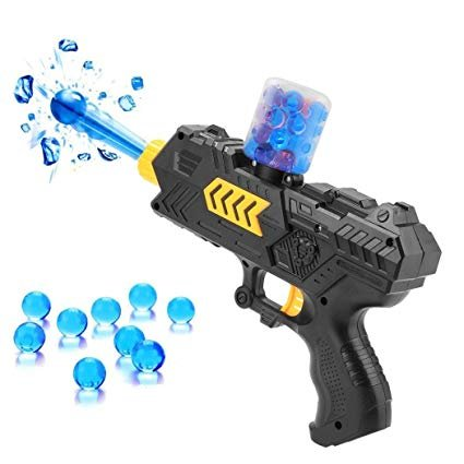 Dart Crystal - F&W Kids Plastic Water Crystal Gun 2-in-1 Paintball Soft Bullet Handgun Toys,Kids Crystal Bullets CS Shooting Game Set