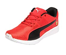 44ee6dc08a4cce Puma Unisex Sf F117 Jr Rosso Corsa Black Sneakers - 3 UK India (35.5