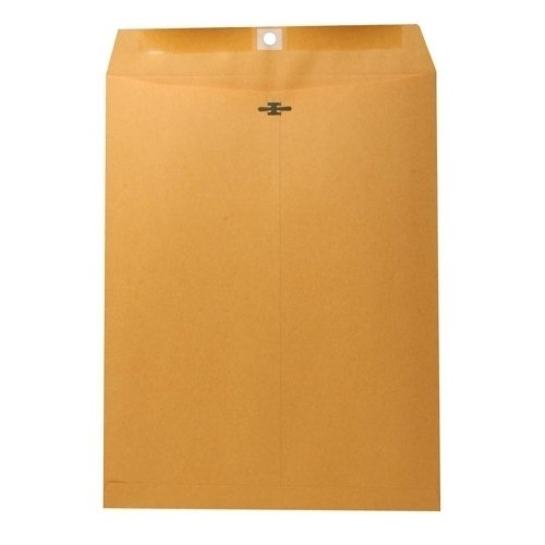 Wholesale CASE of 10 - Nature Saver Recycled Clasp Envelopes-Clasp Envelope, 28Lb, 10