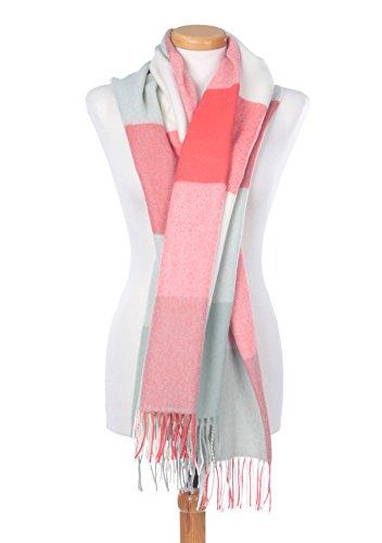 The Tartan Blanket Co. Scottish Lambswool Blanket Scarf Rothes Rose Tartan by The Tartan Blanket Co. (Image #1)