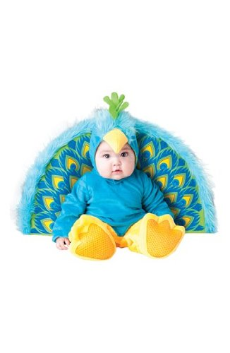 Precious Peacock Infant Toddler Costume 6+ Months