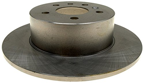 - ACDelco 18A1091A Advantage Non-Coated Rear Disc Brake Rotor
