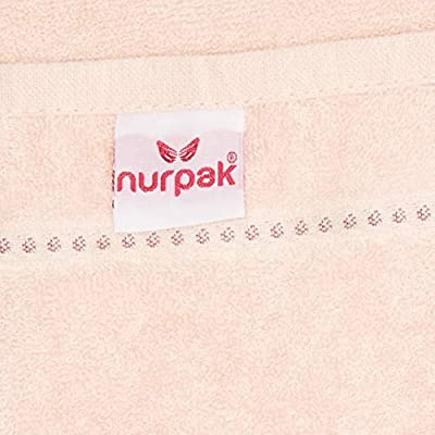 Cream//Pink 20 x 35 in Tessile Di-Lusso Nurpak Stephania VIP Turkish Cotton//Jacquard Luxury Towels in Gift Box.27 x 55 in 4 Pack