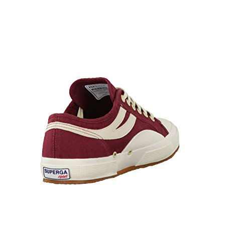 Dark 2750 Low Ecru Adults' Superga cotu Bordeaux Panatta Unisex vUwaqOqY