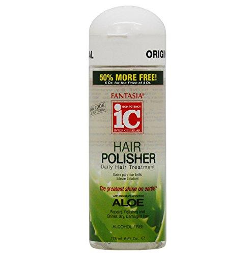 Fantasia IC Hair Polisher Daily Hair Treatment, 6 Ounce (Fantasia Hair Polisher)