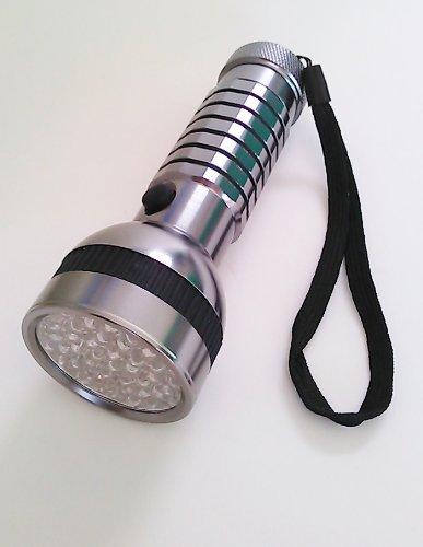 強力ライトLED41灯紫外線UVブラックライトBL-0116