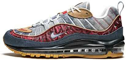 buy popular 75e5b 1ea7c Nike Air Max 98 (Lt Armory Blue University Red 8.5)