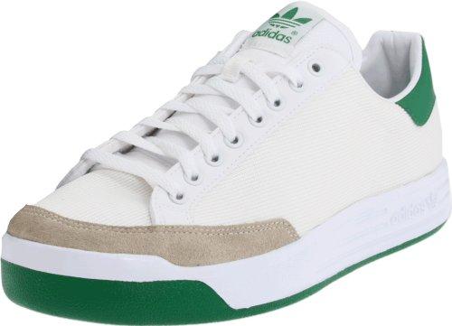 adidas Originals Men's Rod Laver Tennis Shoe,Running White/Green, 8 M ()