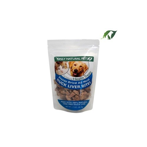 Only Natural Pet All Meat Bites Duck Liver 5oz