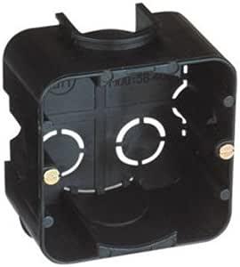 Caja eléctrica universal cuadrada de empotrar (2 Unidades): Amazon ...