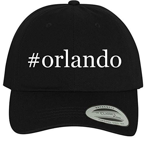 BH Cool Designs #Orlando - Comfortable Dad Hat Baseball Cap, Black (Best Weather Time In Orlando Florida)