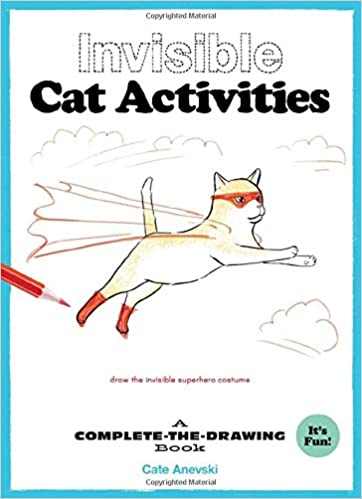 Amazon Com Invisible Cat Activities A Complete The Drawing Book