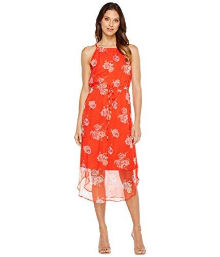 爬虫類海藻タンカー[ラッキーブランド] Lucky Brand レディース Pop Floral Dress ドレス Red Multi MD (US 8-10) [並行輸入品]