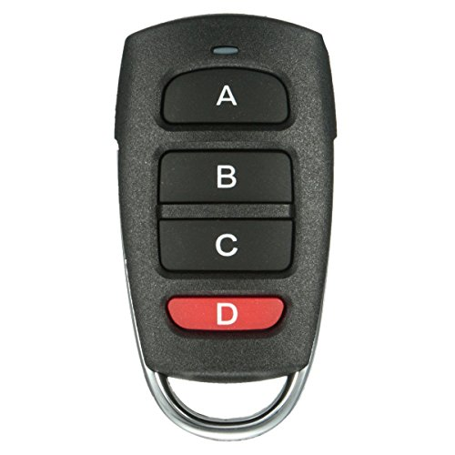 Garage Opener,MATCC Universal 4 Buttons Cloning 433mhz Electric Garage Door Remote Control Key (Electric Sunroof)