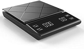 Oneon計量器 3kg デジタル タイマー付き はかり デジタル 0.1g 高精度LED電子スケール 業務用