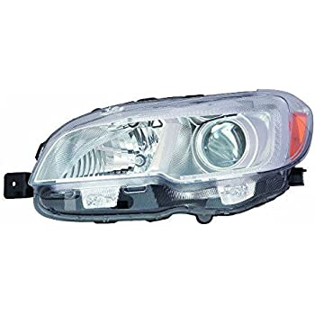 DEPO 346-1109L-AS2 Audi A3 Driver Side Halogen Head Lamp Assembly