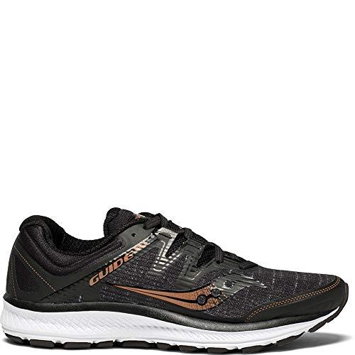 Saucony Women's Guide ISO Running Shoe, Black/Denim, 11 Medium US -  S10415-30-1-11 Medium US