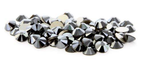 SS20 Swarovski Rhinestones - Jet Hematite (1 Gross = 144 pieces)
