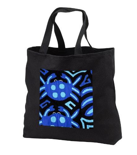 Danita Delimont – Textiles – Panama, Kuna Indian handmade textile mola – SA15 CMI0206 – Cindy Miller Hopkins – Tote Bags – Black Tote Bag JUMBO 20w x …