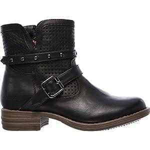 SKECHERS KIDS Girl's Mad Dash 87849L (Little Kid/Big Kid) Black Boot 11 Little Kid M