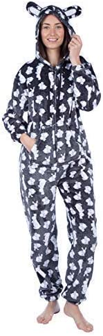 MASQ Ladies Ruby Rabbit Fleece Nightwear