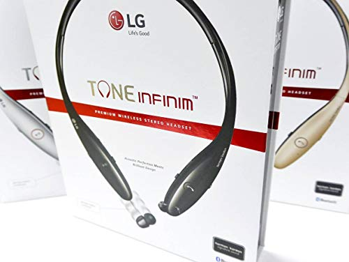 - LG Tone HBS-900 Infinim Bluetooth Stereo Headset - Red Black