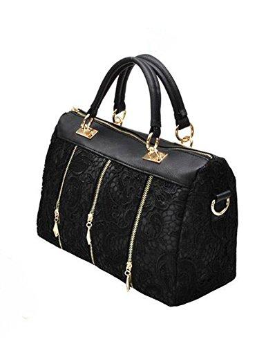 Women's Lace Handbag Vintage Shoulder Bags Messenger Bag Female Totes