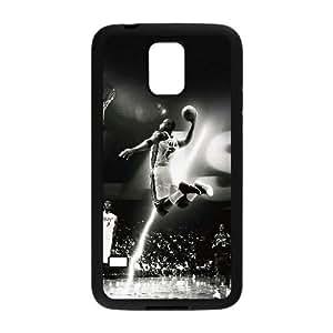 K1Y85 hc Dwyane Wade Dunk n J9N6CB deportes en flash funda caso funda Samsung Galaxy S5 teléfono celular cubren PR3PSQ5CD negro