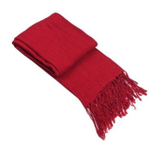 Attack on Titan Mikasa Ackerman Wine Red Cashmere Scarf