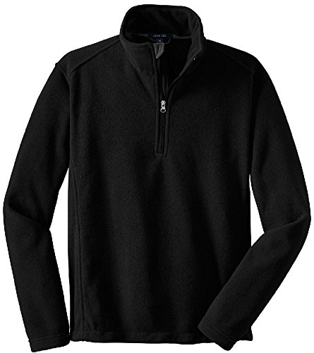 Mens Soft and Cozy Fleece 1/4-Zip Pullovers in Sizes: Adult XS-6XL